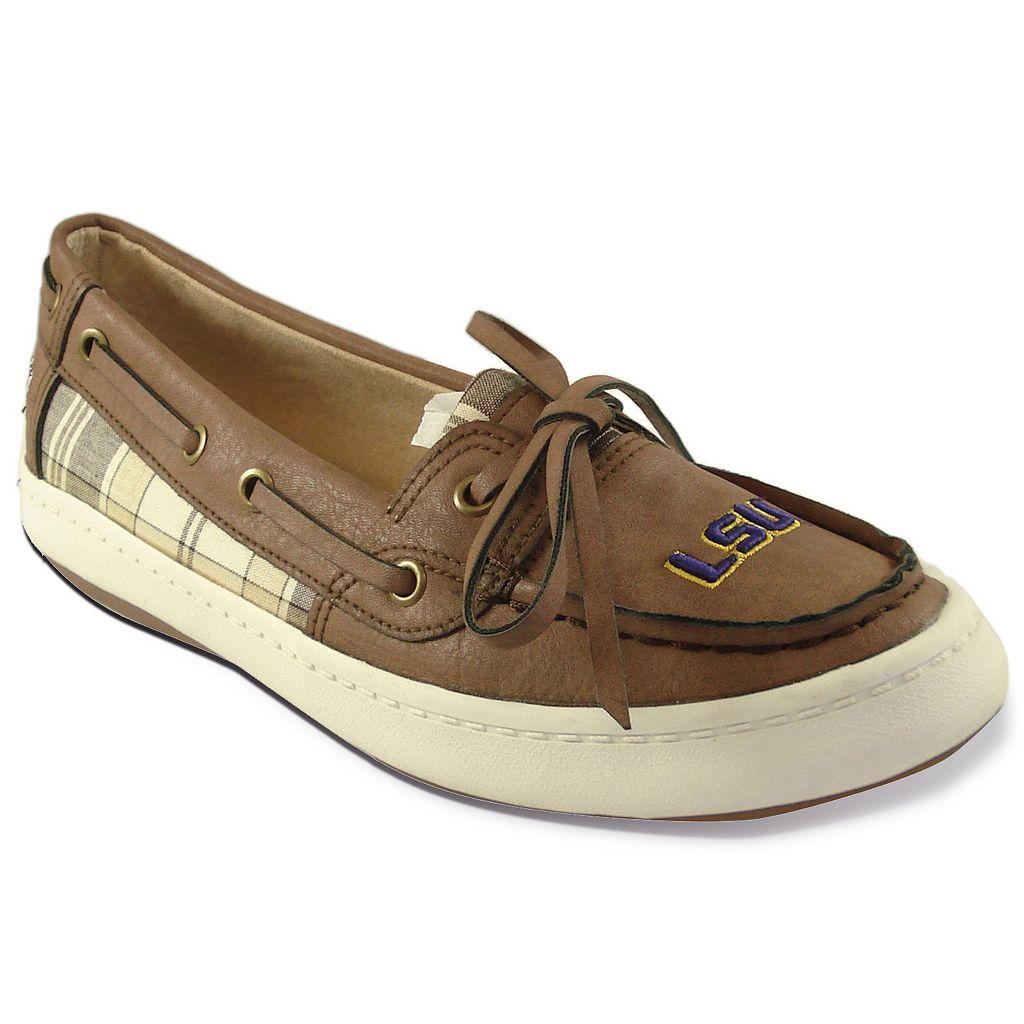 Women's Campus Cruzerz Westwind LSU Tigers Boat Shoes