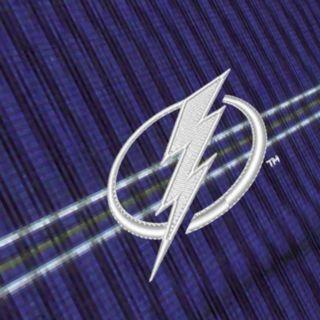 Tampa Bay Lightning Deluxe Striped Desert Dry Xtra-Lite Performance Polo - Men
