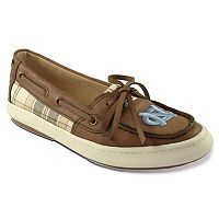 Women's Campus Cruzerz Westwind North Carolina Tar Heels Boat Shoes