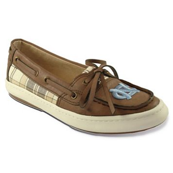 Women's Campus Cruzerz Westwind North Carolina Tar Heels Boat Shoes
