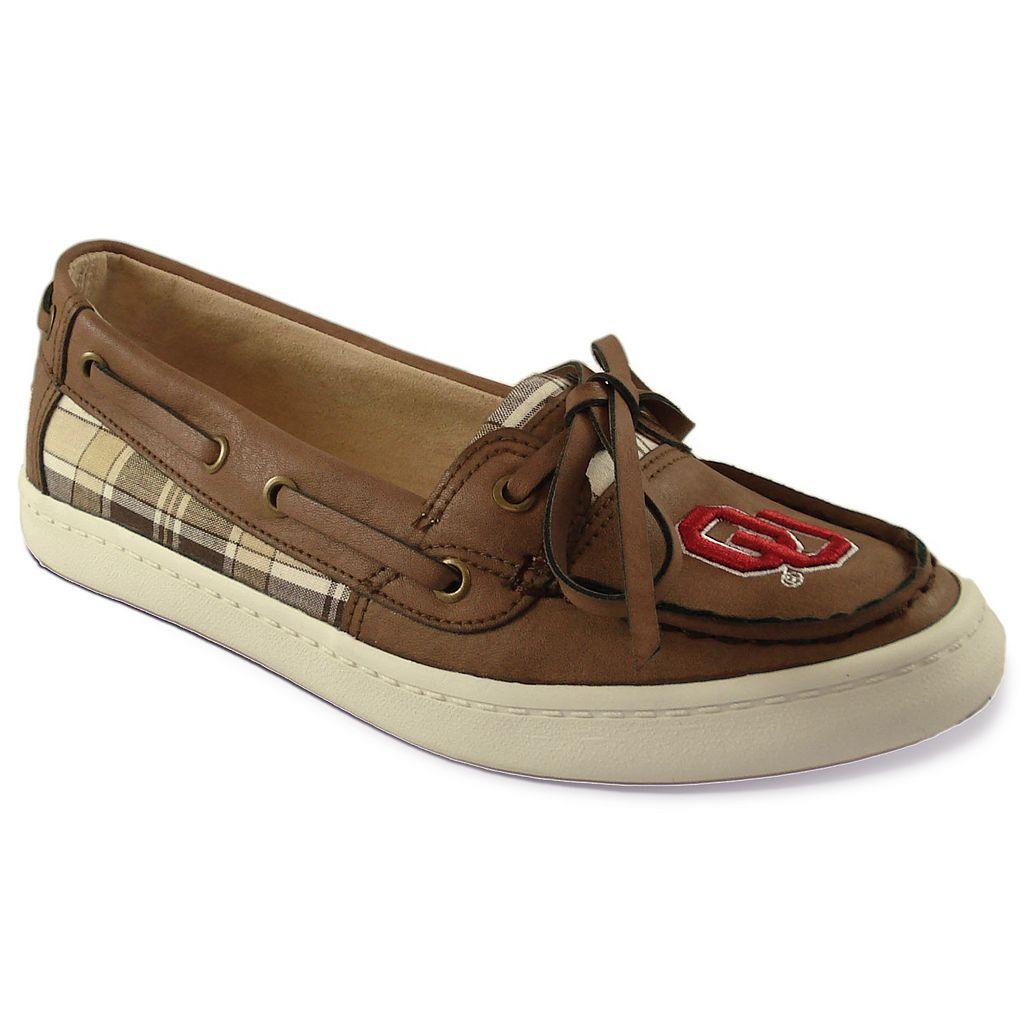 Women's Campus Cruzerz Westwind Oklahoma Sooners Boat Shoes