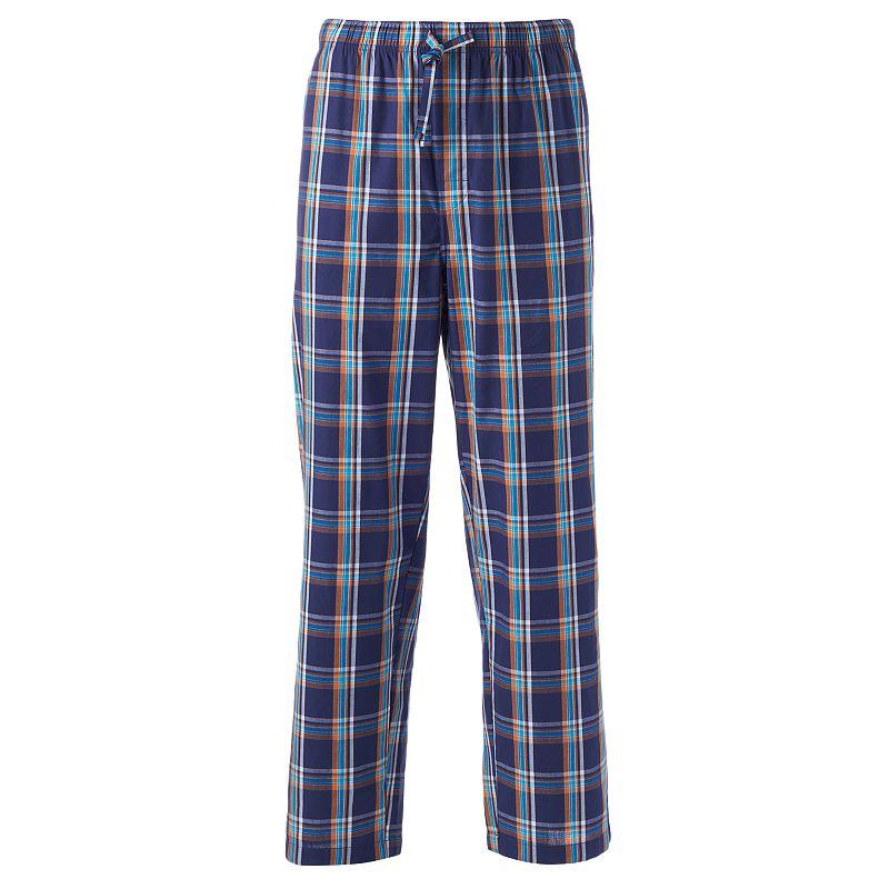 IZOD Plaid Poplin Woven Lounge Pants - Men