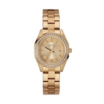 Caravelle New York by Bulova Women's Crystal Stainless Steel Watch - 44M103