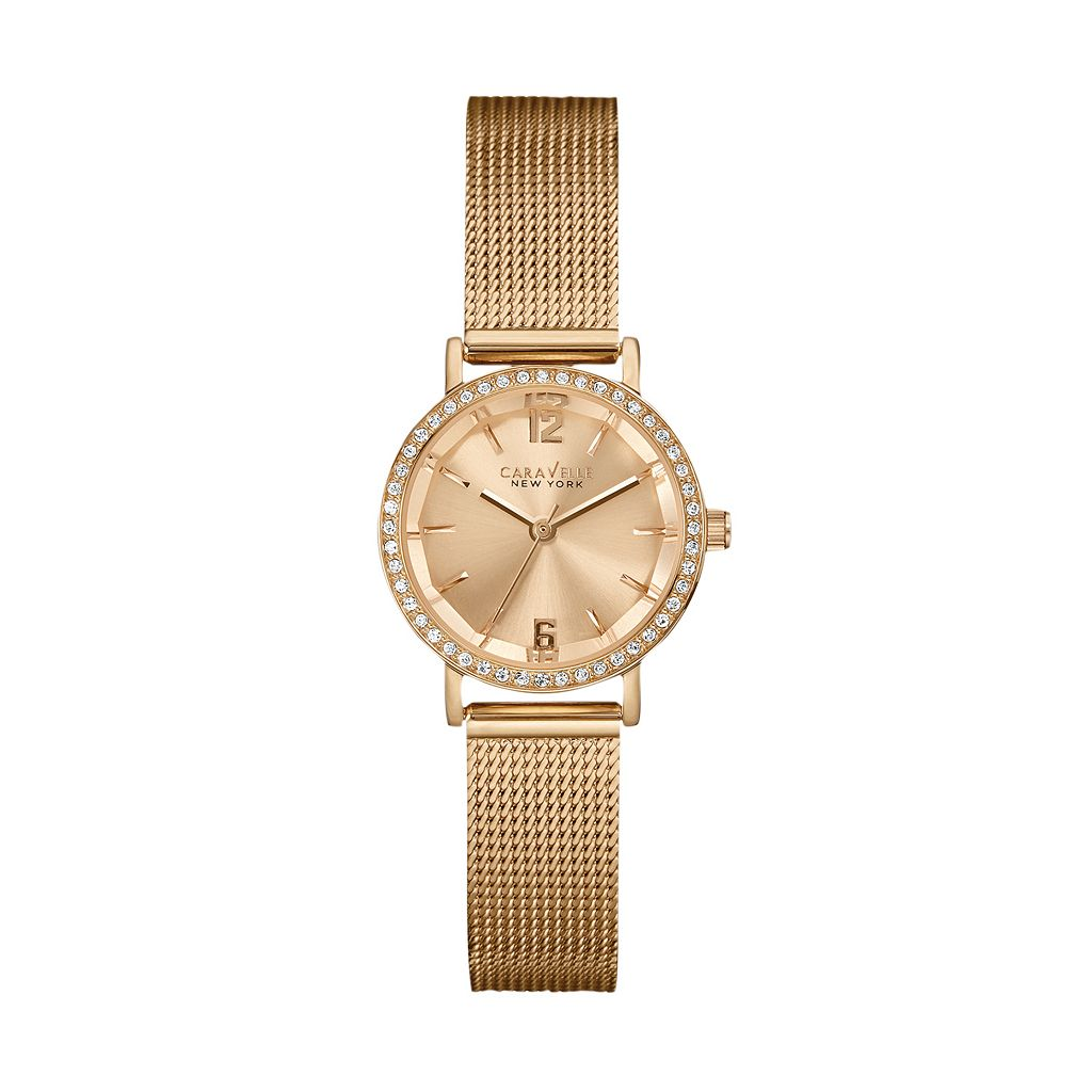 Caravelle New York by Bulova Women's Stainless Steel Mesh Watch - 44L158