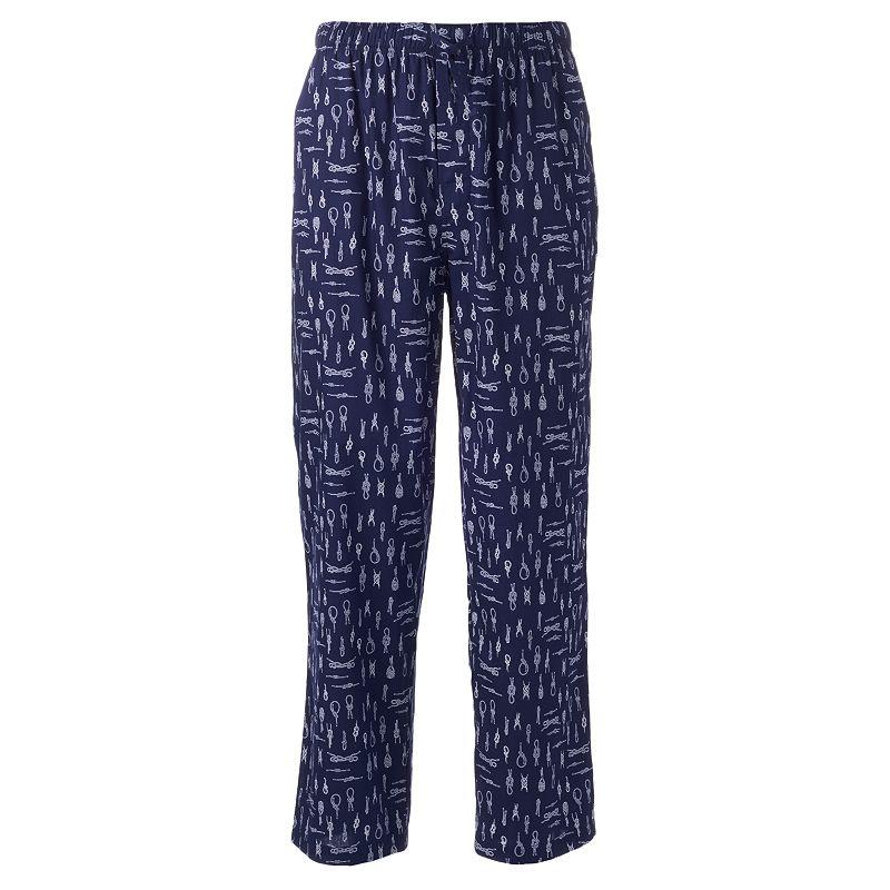 IZOD Boating Knot Poplin Woven Lounge Pants - Men