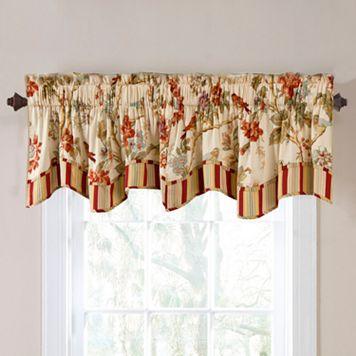 Waverly Charleston Chirp Window Valance - 50'' x 16''