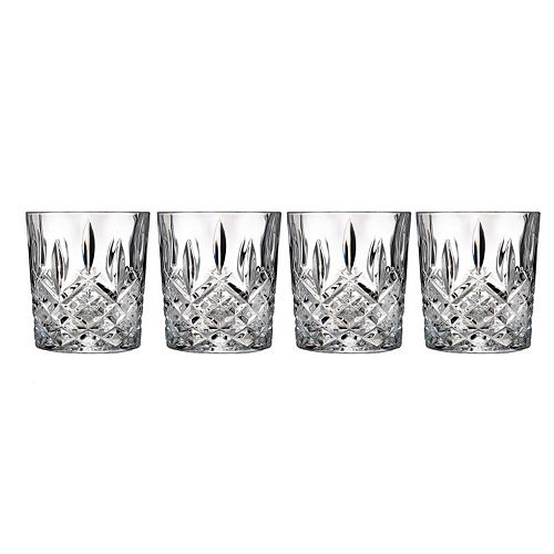 Marquis by Waterford Markham 4-pc. Crystal Double Old-Fashioned Glass Set