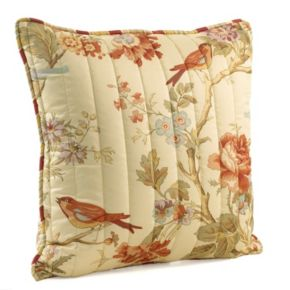 Waverly Charleston Chirp Quilted Throw Pillow