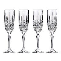 Marquis by Waterford Markham 4-pc. Crystal Champagne Flute Set
