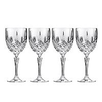 Marquis by Waterford Markham 4 pc All-Purpose Crystal Wine Goblet Set