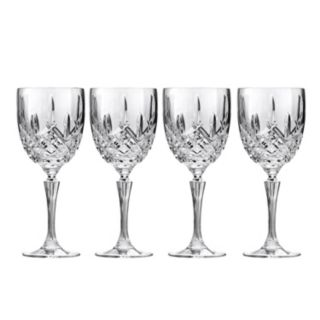 Marquis by Waterford Markham 4-pc. All-Purpose Crystal Wine Goblet Set