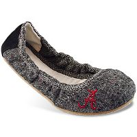 Women's Campus Cruzerz Bimini Alabama Crimson Tide Slip-On Flats