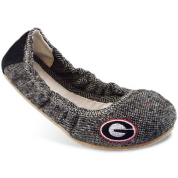 Women's Campus Cruzerz Bimini Georgia Bulldogs Slip-On Flats