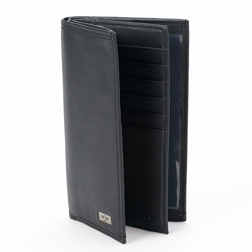 Dockers® Leather Checkbook Wallet - Men