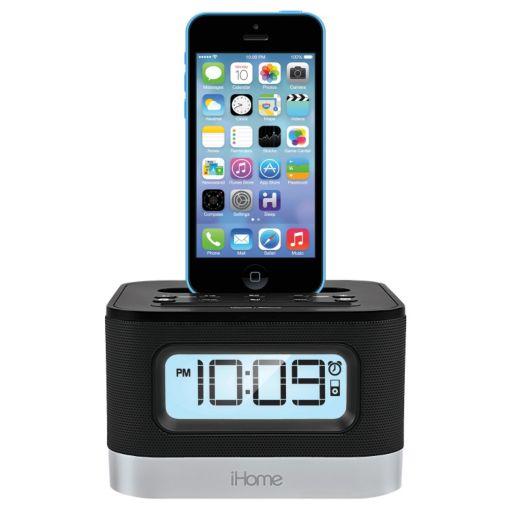 iHome Alarm Clock Radio and Lightning Charging Dock
