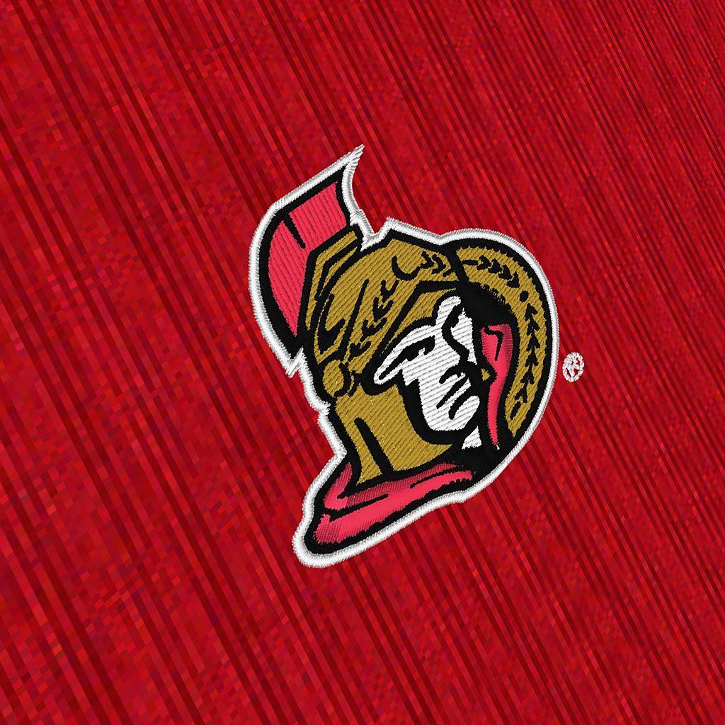 Men's Antigua Ottawa Senators Delta 1/4-Zip Pullover