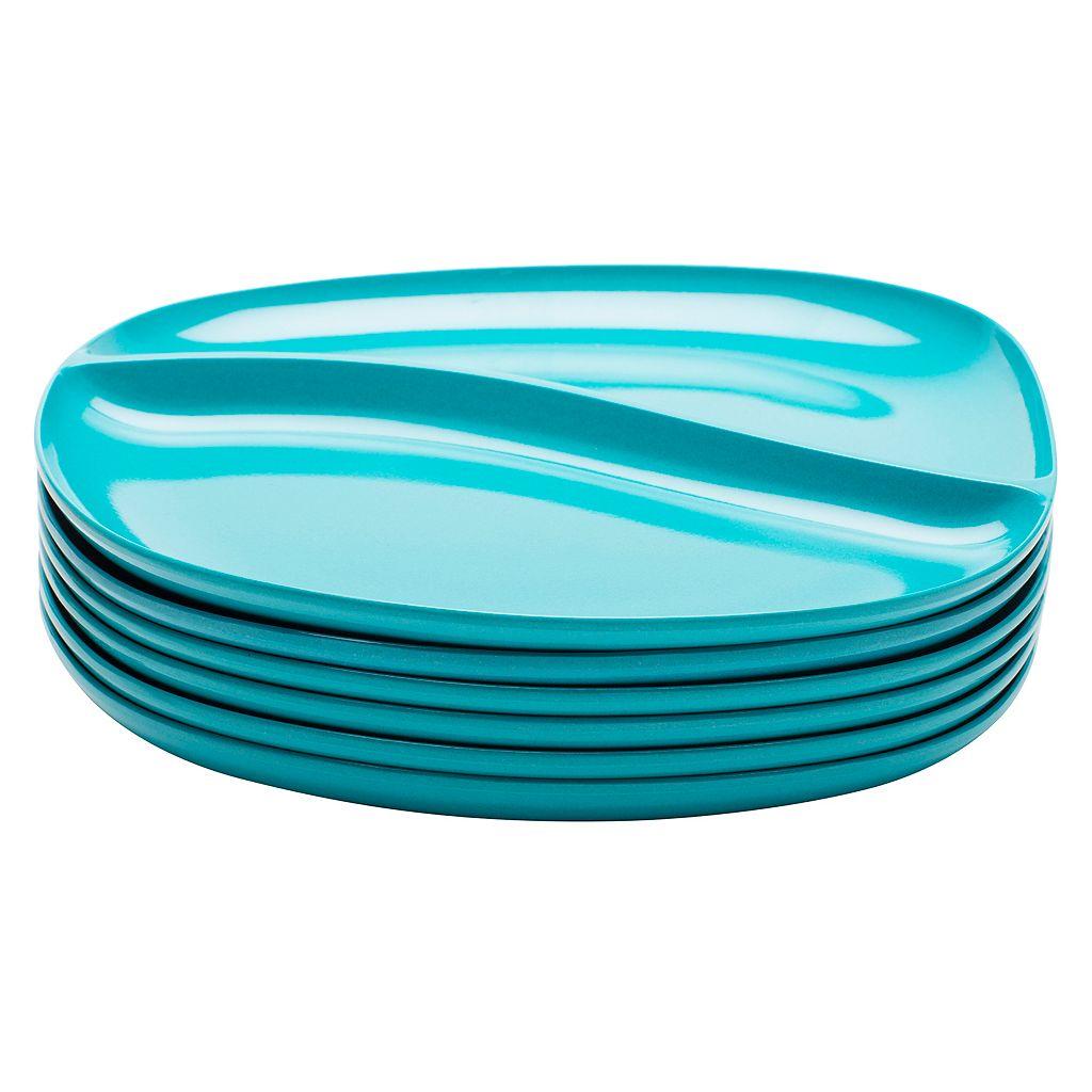 Zak Designs Moso 6-pc. Divided Plate Set
