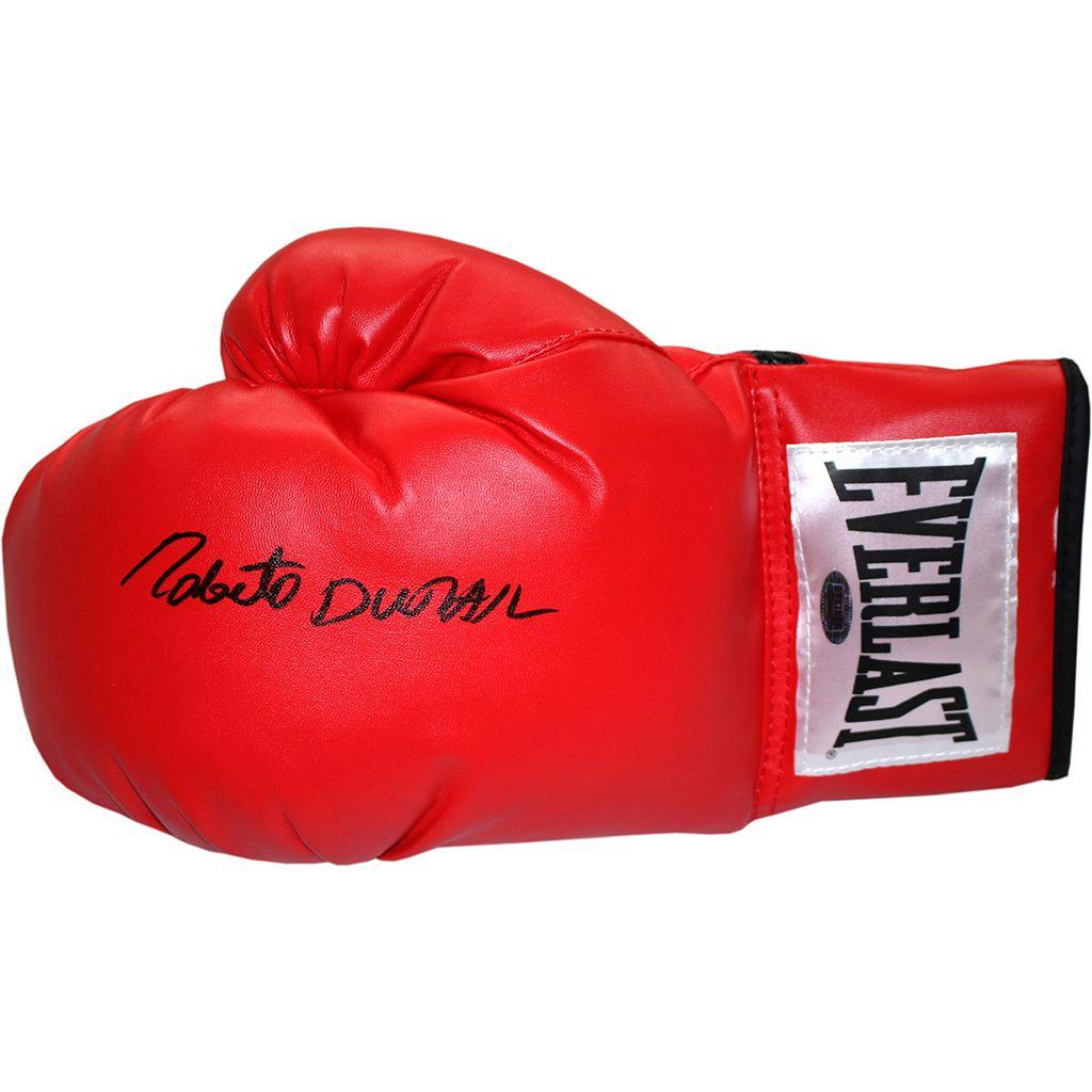 Steiner Sports Roberto Duran Autographed Everlast Boxing Glove