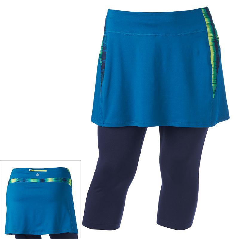 Tek Gear Skirted Capri Workout Leggings - Women's Plus Size
