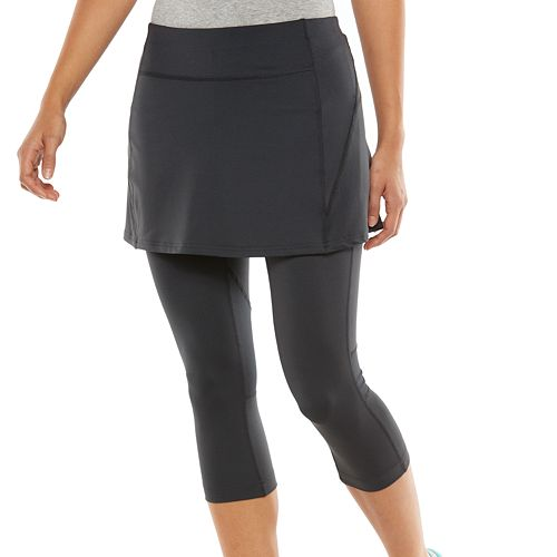 164a098ea8 Women's Tek Gear® Skirted Capri Workout Leggings