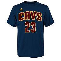adidas Cleveland Cavaliers LeBron James Tee - Boys 8-20