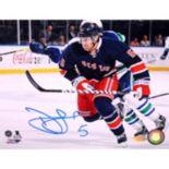 Steiner Sports New York Rangers Dan Girardi Blue Jersey 8'' x 10'' Signed Photo