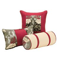 Pointehaven Coronado 3 pc Throw Pillow Set
