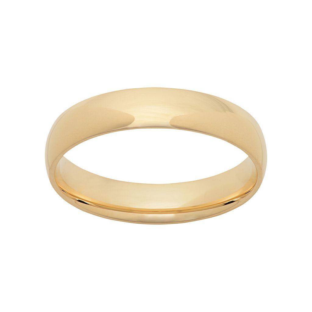 14k Gold Wedding Band