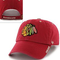 '47 Brand Chicago Blackhawks Ice Baseball Cap - Adult