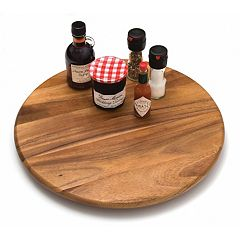 Lipper Acacia 18-in. Lazy Susan