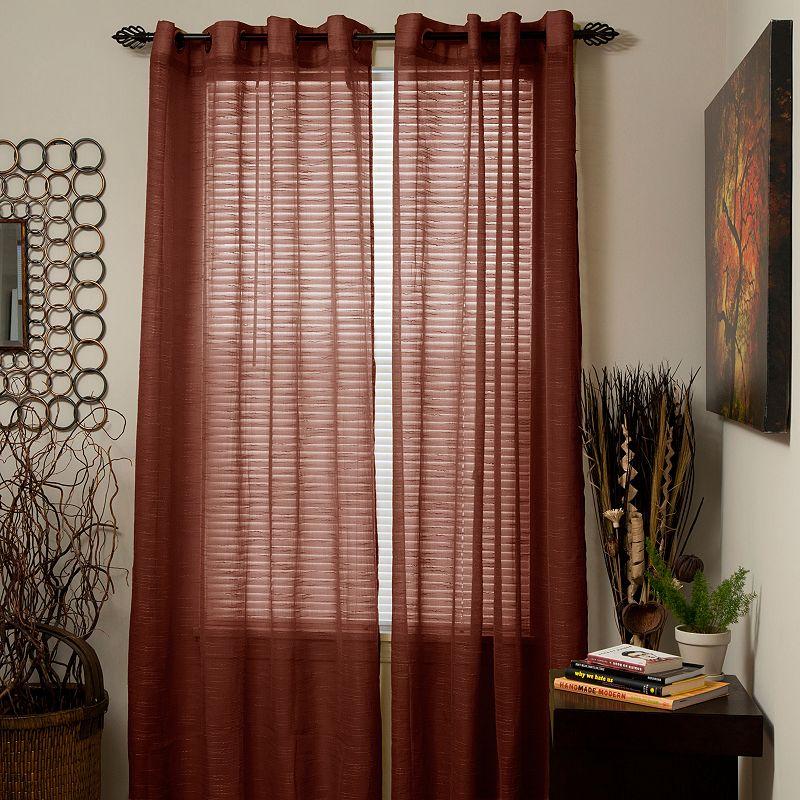Grommet Sheer Curtains