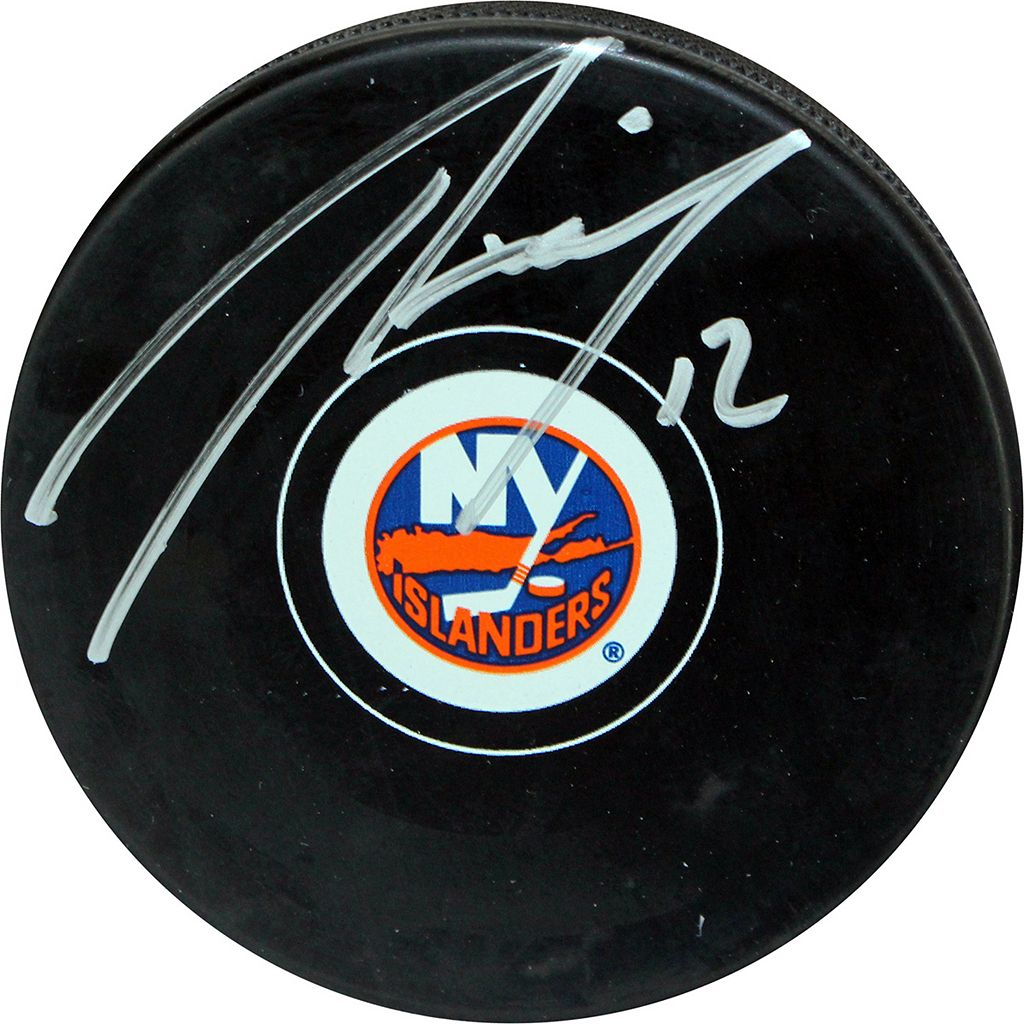 Steiner Sports Josh Bailey New York Islanders Autographed Hockey Puck