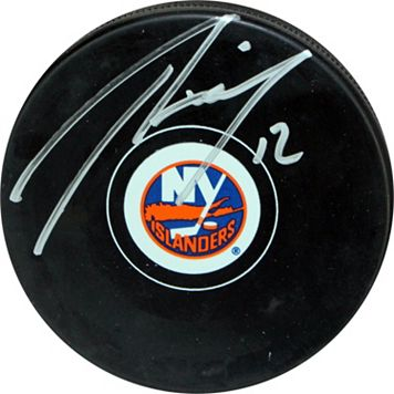 Steiner Sports Josh Bailey New York Islanders Autographed Hockey Puck