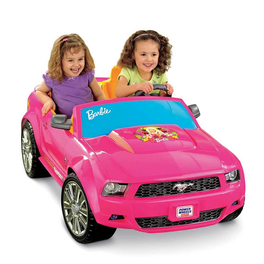 Power Wheels Barbie Ride-On Ford Mustang by Fisher-Price