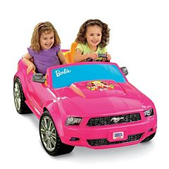 Power Wheels Barbie Ride-On Ford Mustang by Fisher-Price by