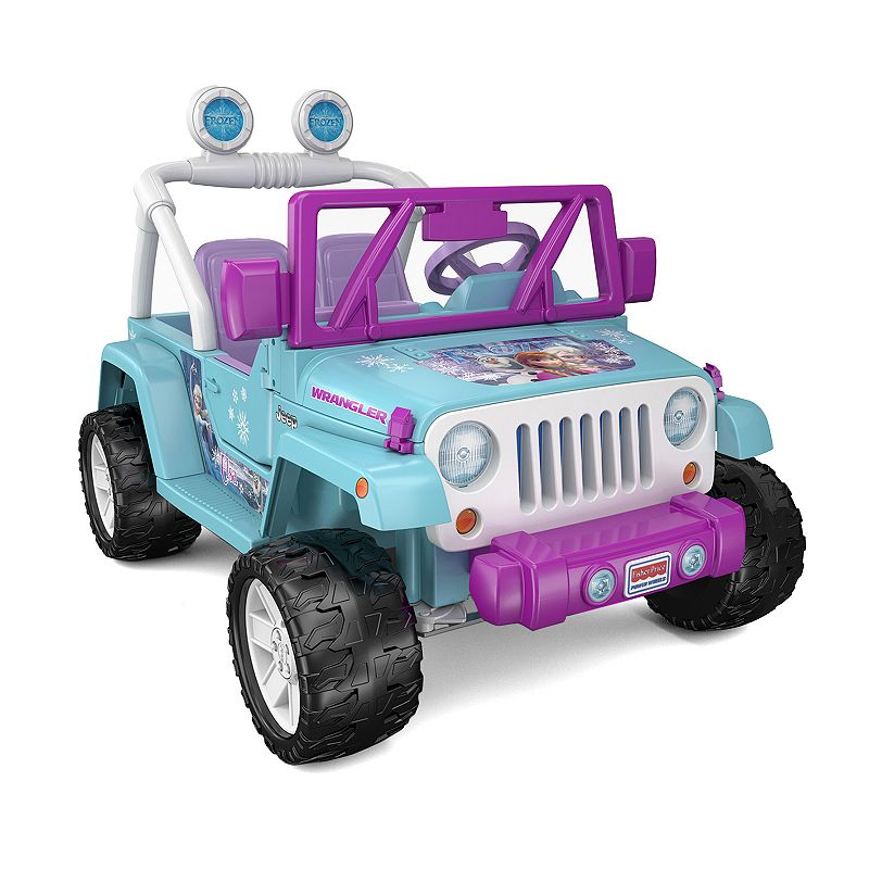 Disney's Frozen Power Wheels Jeep Wrangler by Fisher-Price (Blue)
