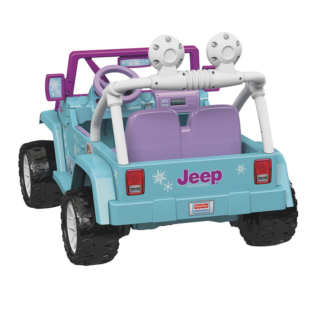 Disney's Frozen Power Wheels Jeep Wrangler by Fisher-Price