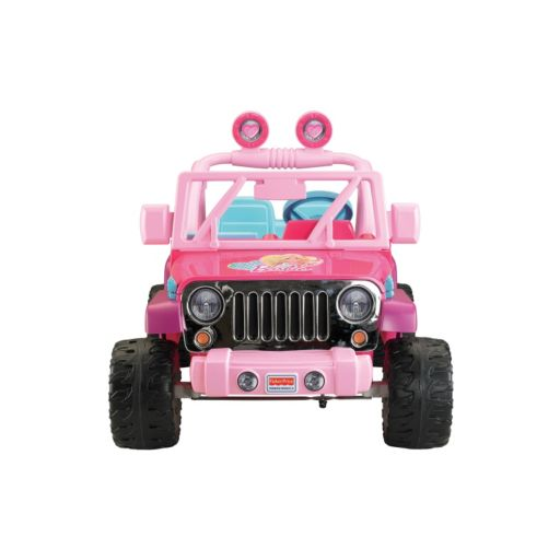 Power Wheels Barbie Ride-On Jeep Wrangler by Fisher-Price