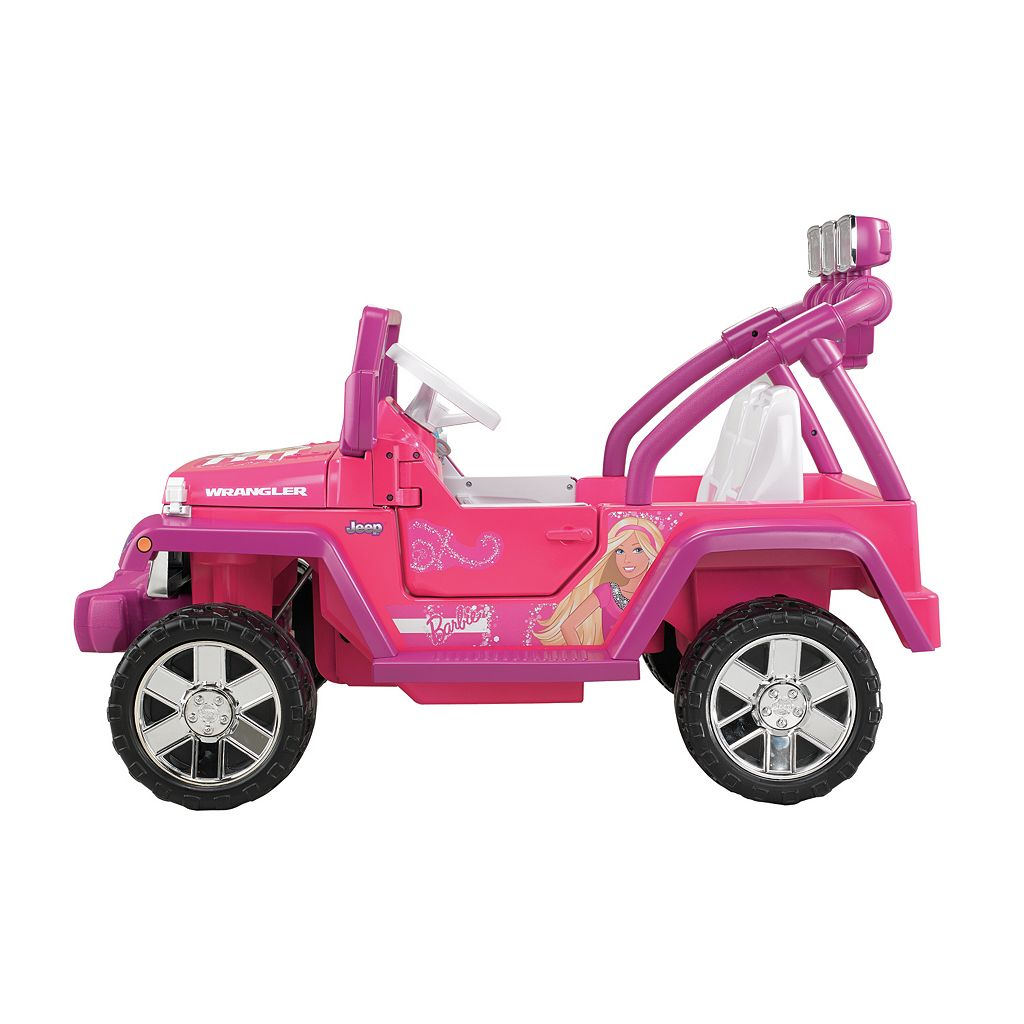 Barbie Power Wheels Jammin' Jeep Wrangler by Fisher-Price