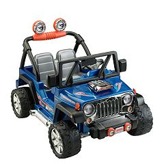 Power Wheels Hot Wheels Ride-On Jeep Wrangler by Fisher-Price by