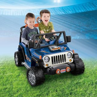 Power Wheels Hot Wheels Ride-On Jeep Wrangler by Fisher-Price
