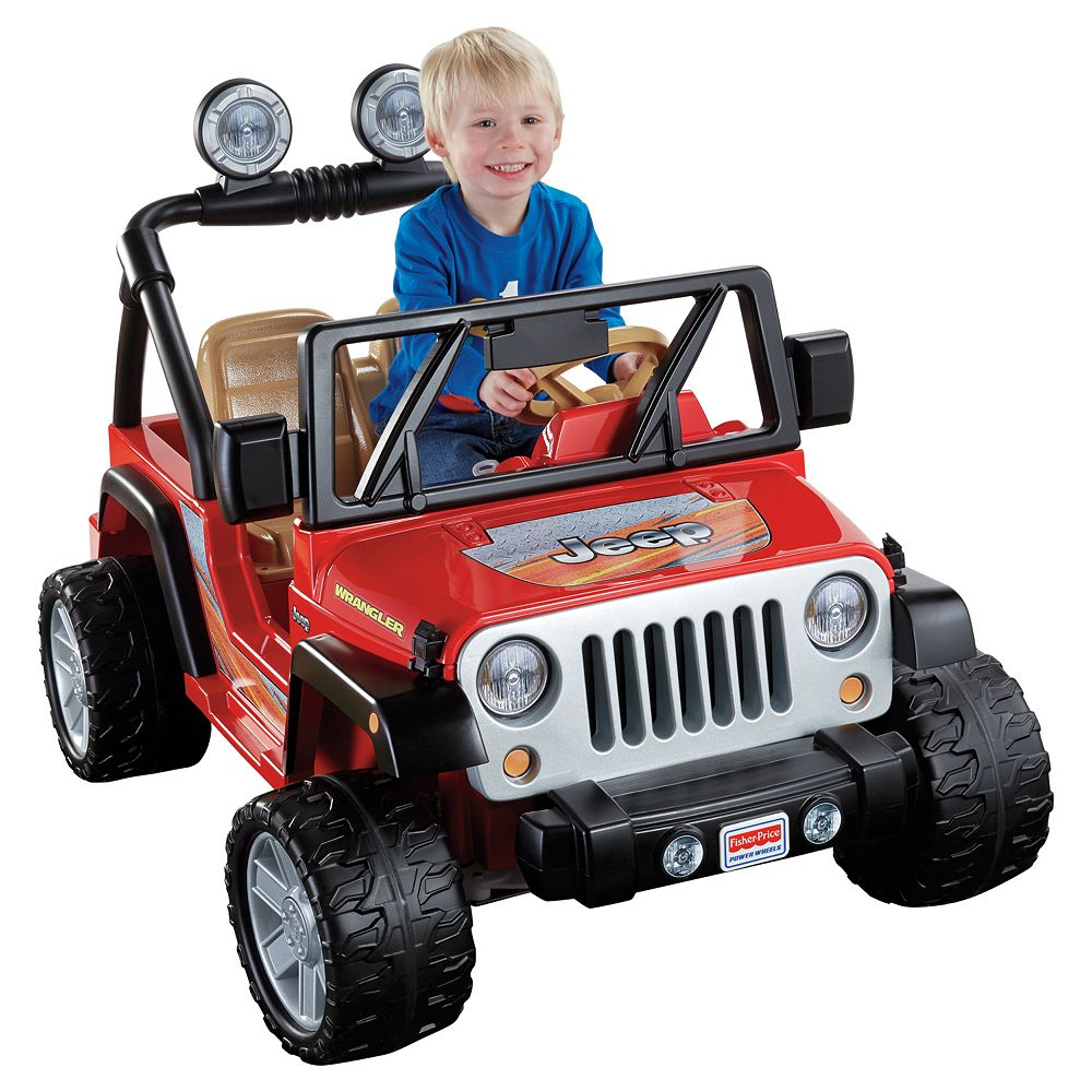 Power Wheels Ride-On Toy Jeep Wrangler by Fisher-Price