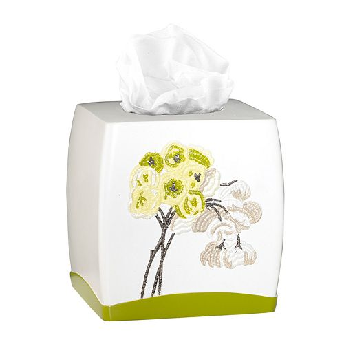 Canteen Flower Tissue Box Cover