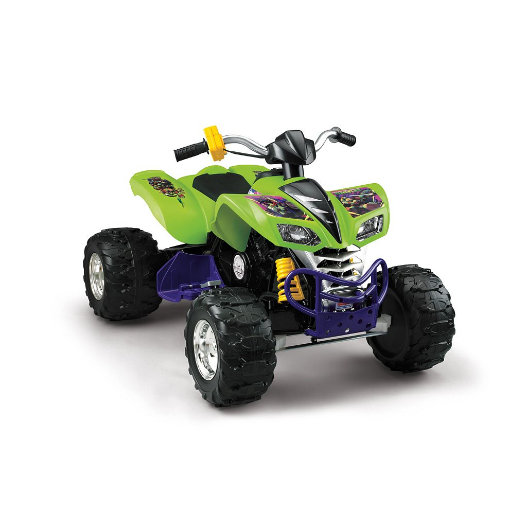 Power Wheels Teenage Mutant Ninja Turtles Ride-On Kawasaki KFX by Fisher-Price