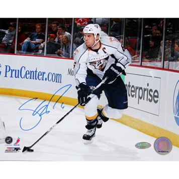 Steiner Sports Nashville Predators Shea Weber Skating with Puck 8'' x 10'' Signed Photo