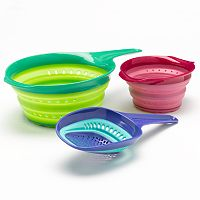 Squish 3-pc. Colander Set