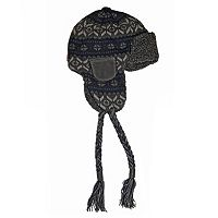 Men's MUK LUKS Faux-Fur Navy Trapper Hat