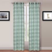Portsmouth Home Blue Katrina 2-pack Window Curtains - 84'' x 80''
