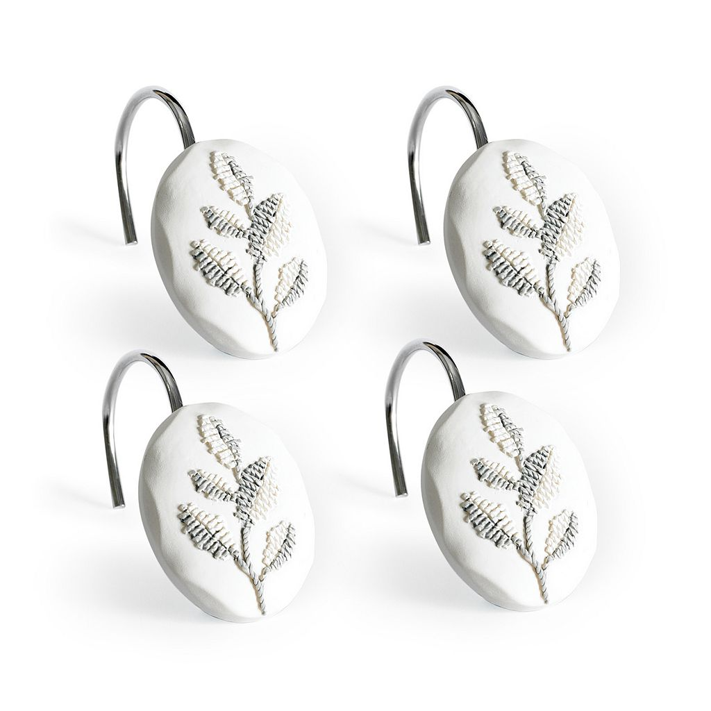 Flourish 12-pk. Shower Curtain Hooks
