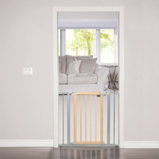 Baby Trend Pressure Fit Metal and Hardwood Safety Gate